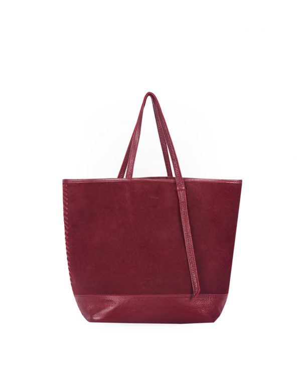 Lucette Tote – Maroon