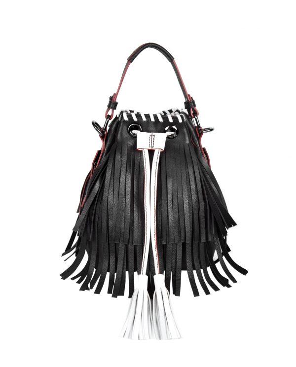 Lilou Fringe – Black White